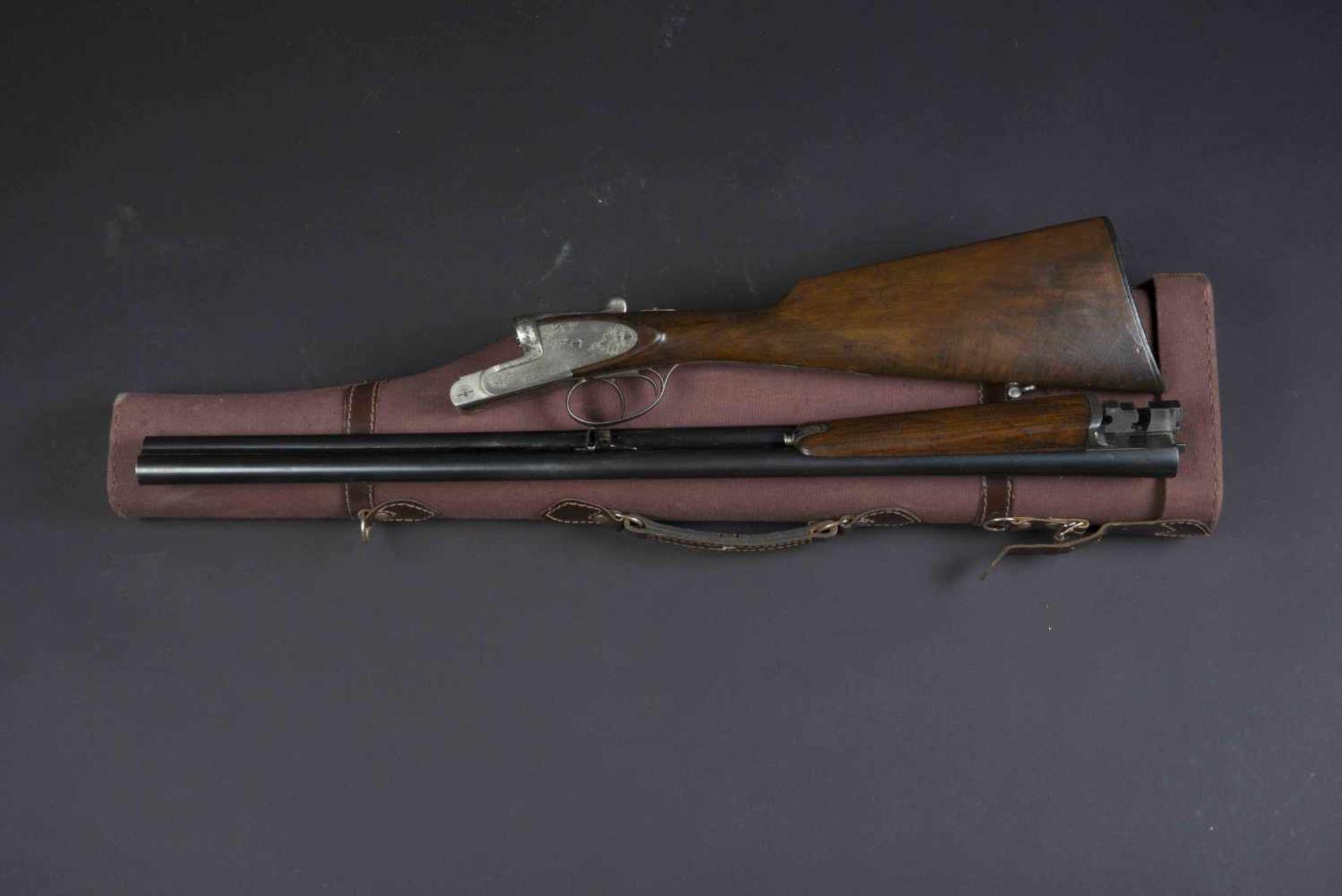 Fusil de chasse Verney Carron Catégorie C Parties métalliques ciselées. Verney Carron Helicobloc.