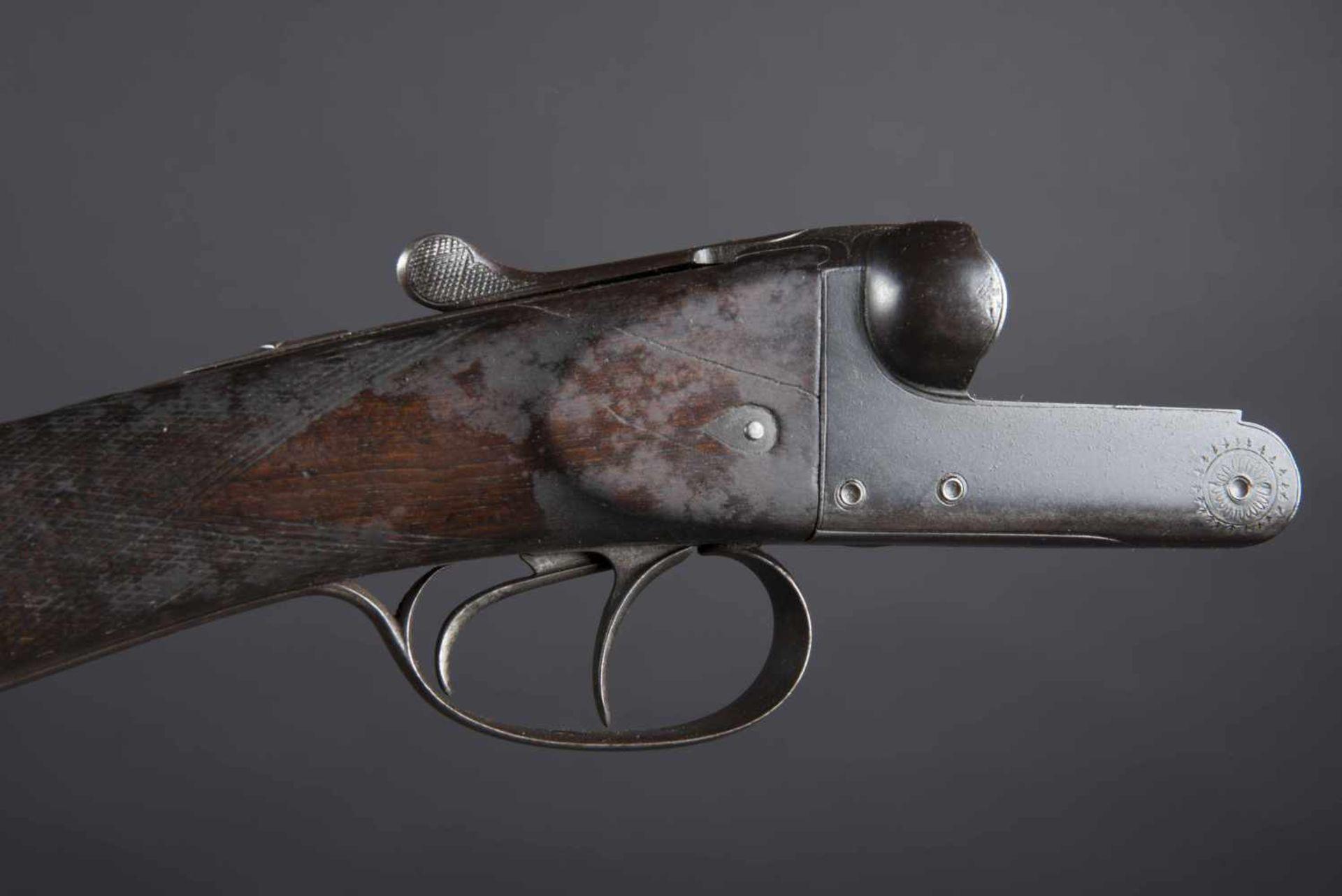 Fusil de chasse juxtaposé Catégorie C Calibre 12/65, numéro 43186. Complet, boite non du modèle de - Bild 2 aus 3