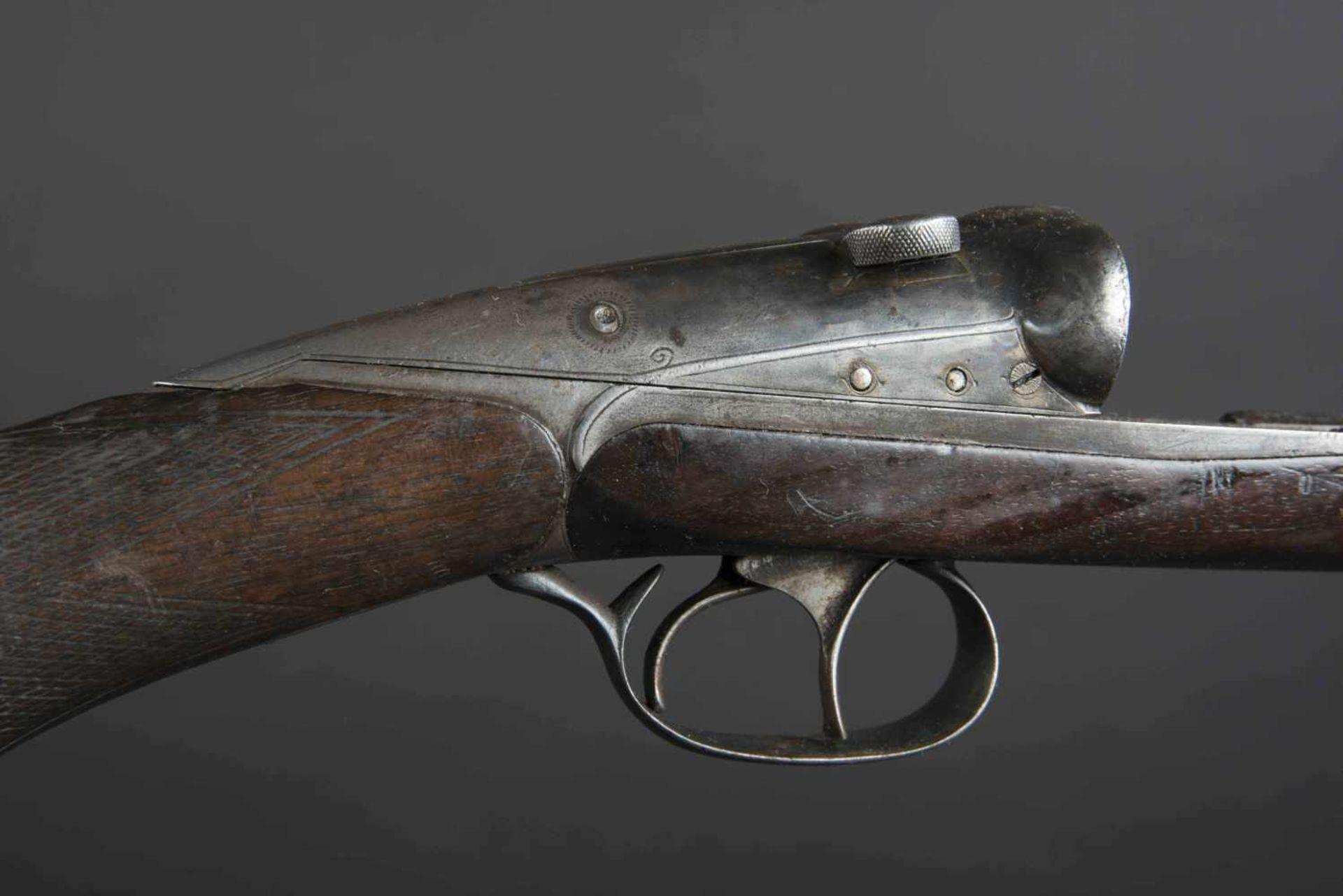 Fusil de chasse Darne Catégorie C Darne type 10, plaque de couche en caoutchouc, numéro E 187. - Bild 2 aus 3