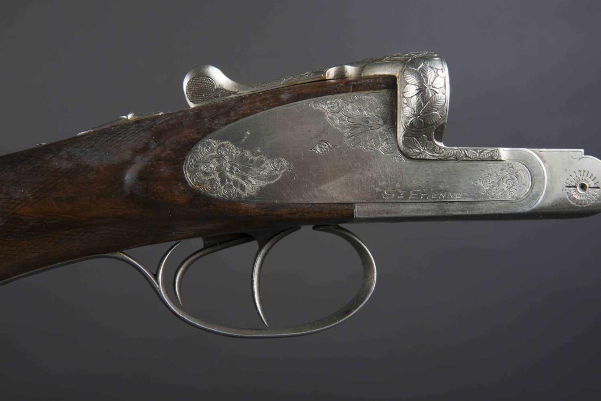 Fusil de chasse Verney Carron Catégorie C Parties métalliques ciselées. Verney Carron Helicobloc. - Bild 2 aus 4