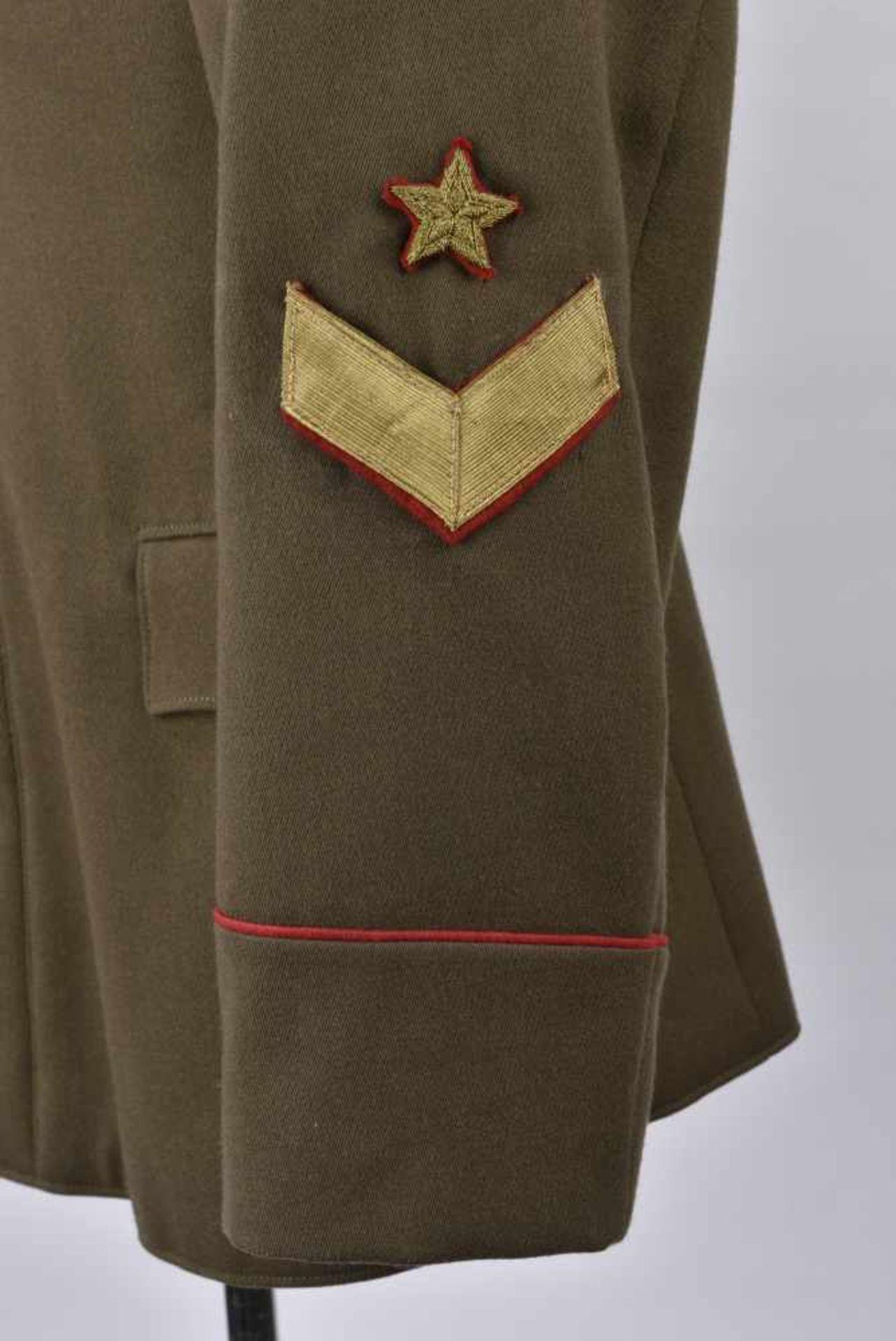 Vareuse de général modèle 1935/40 Pattes de col de major général. Cette pièce provient de la - Bild 2 aus 4