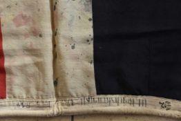 Drapeau allemand de la première guerre mondiale En tissu coton. Croix de fer imprimée en son milieu.