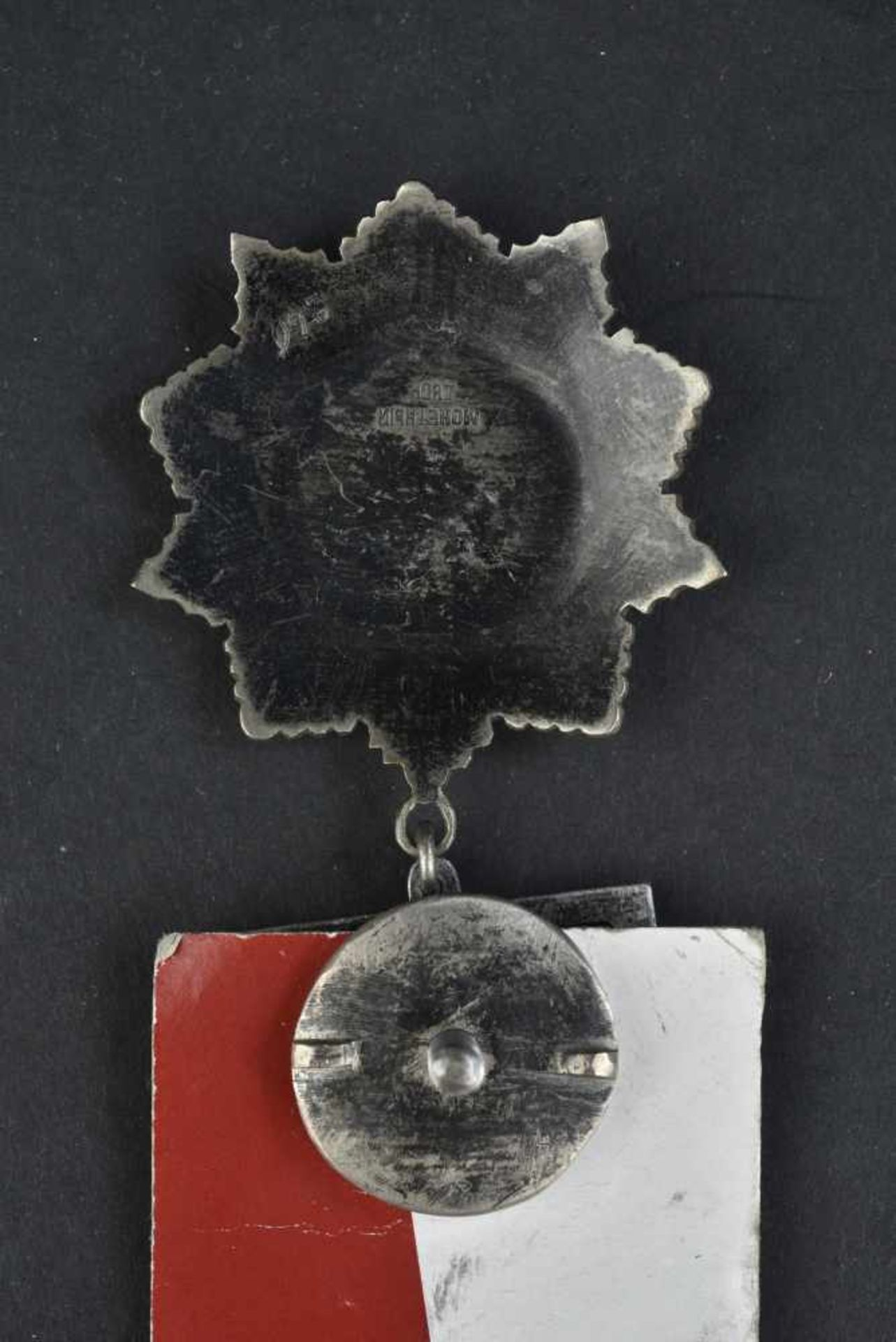 Ordre de Kutuzov Ordre de troisième classe, complet encore sur son fond carton comportant les - Bild 4 aus 4