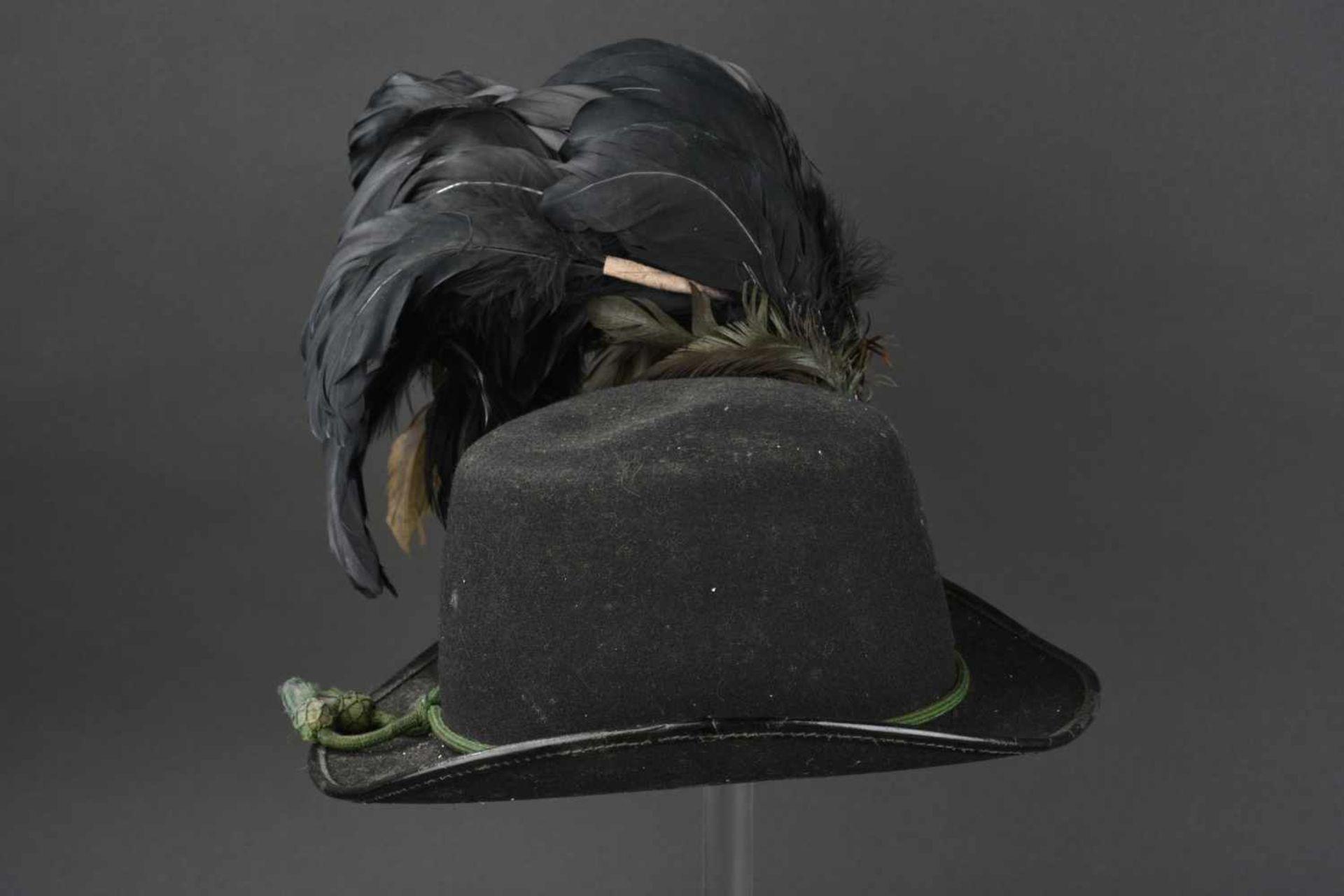 Los 30 - EMPIRE AUSTRO HONGROIS Chapeau de grande tenue du régiment Impérial et Royal de chasseur tyrolien