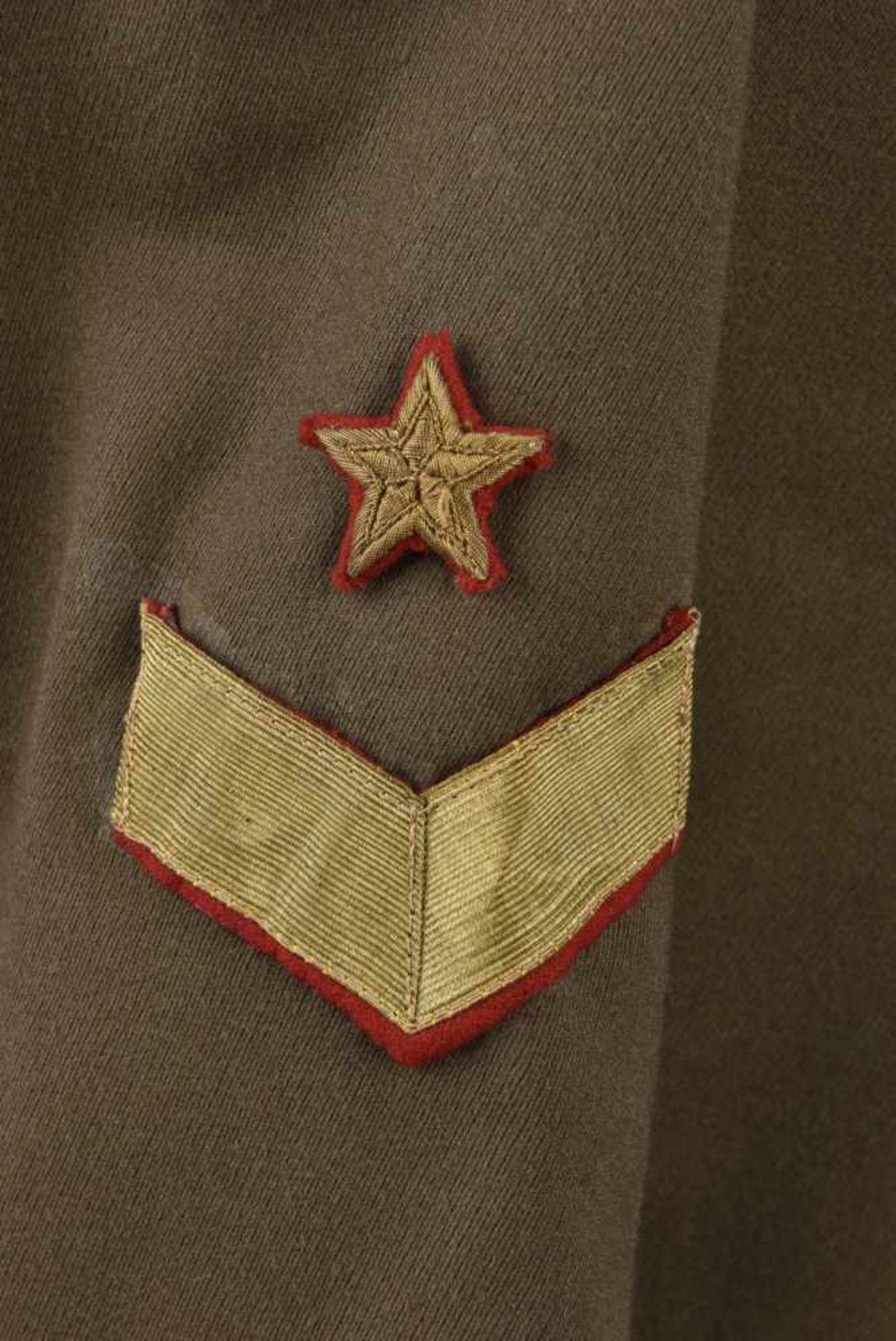 Vareuse de général modèle 1935/40 Pattes de col de major général. Cette pièce provient de la - Bild 3 aus 4