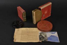 Deux films en boite de la Kriegsmarine Une bobine de film Cegeo 16 mm en boite d'origine, marquée