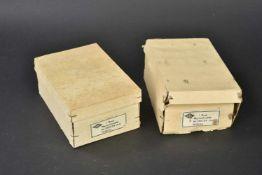 Ensemble de boutons de la Kriegsmarine en boite d'origine Boite en carton complète du fabricant OLC,