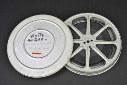 Film d'époque de la Kriegsmarine Film 9,5 mm visiblement complet dans sa boite montrant la