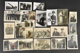 Ensemble de photos originales de la Kriegsmarine 22 photos noirs et blancs, divers états,