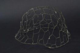 Grillage de casque allemand Grillage préformé pour casque allemand complet. L'authenticité du