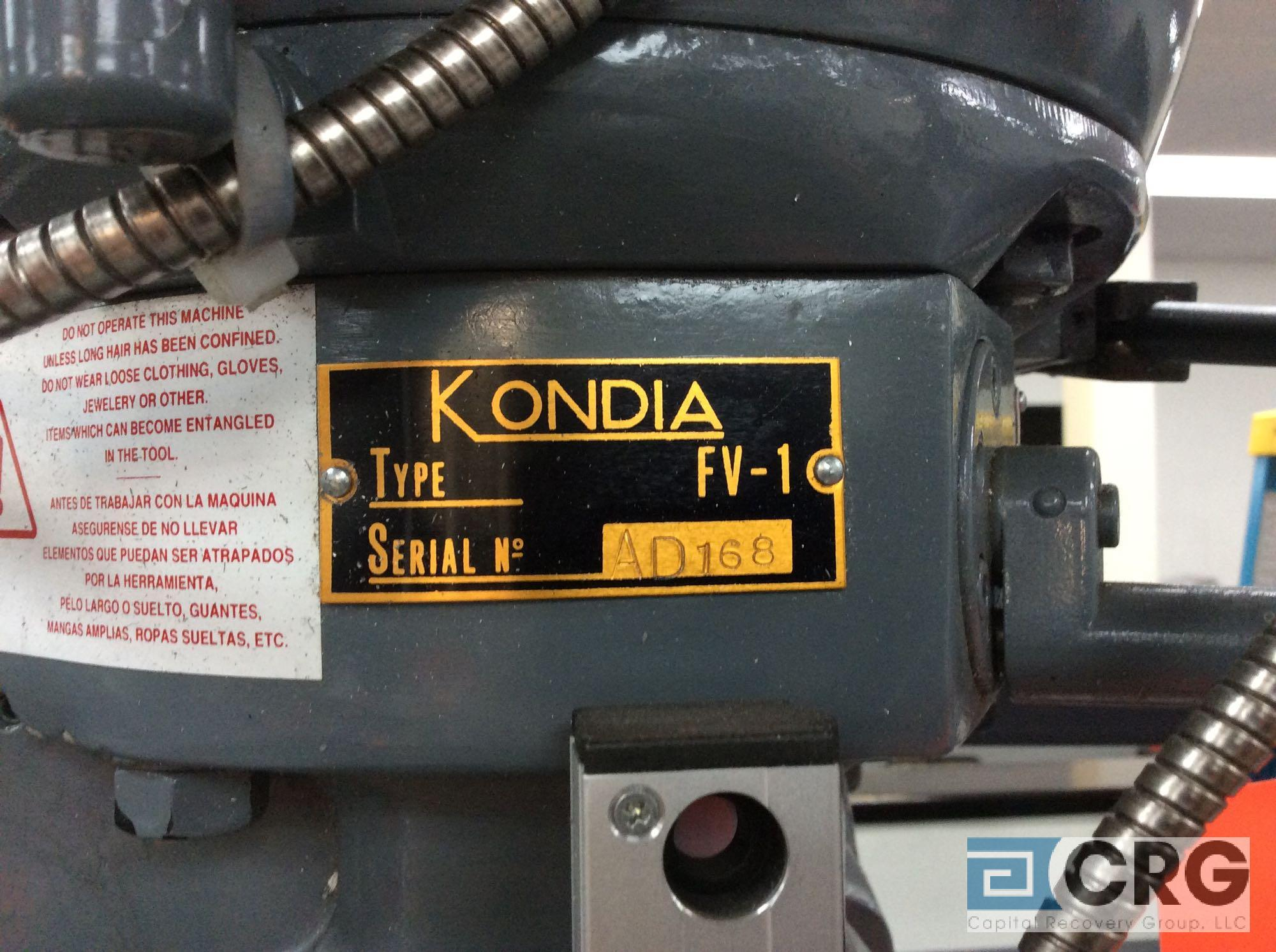 Clausing Kondia Fv 1 Parts list Lowes