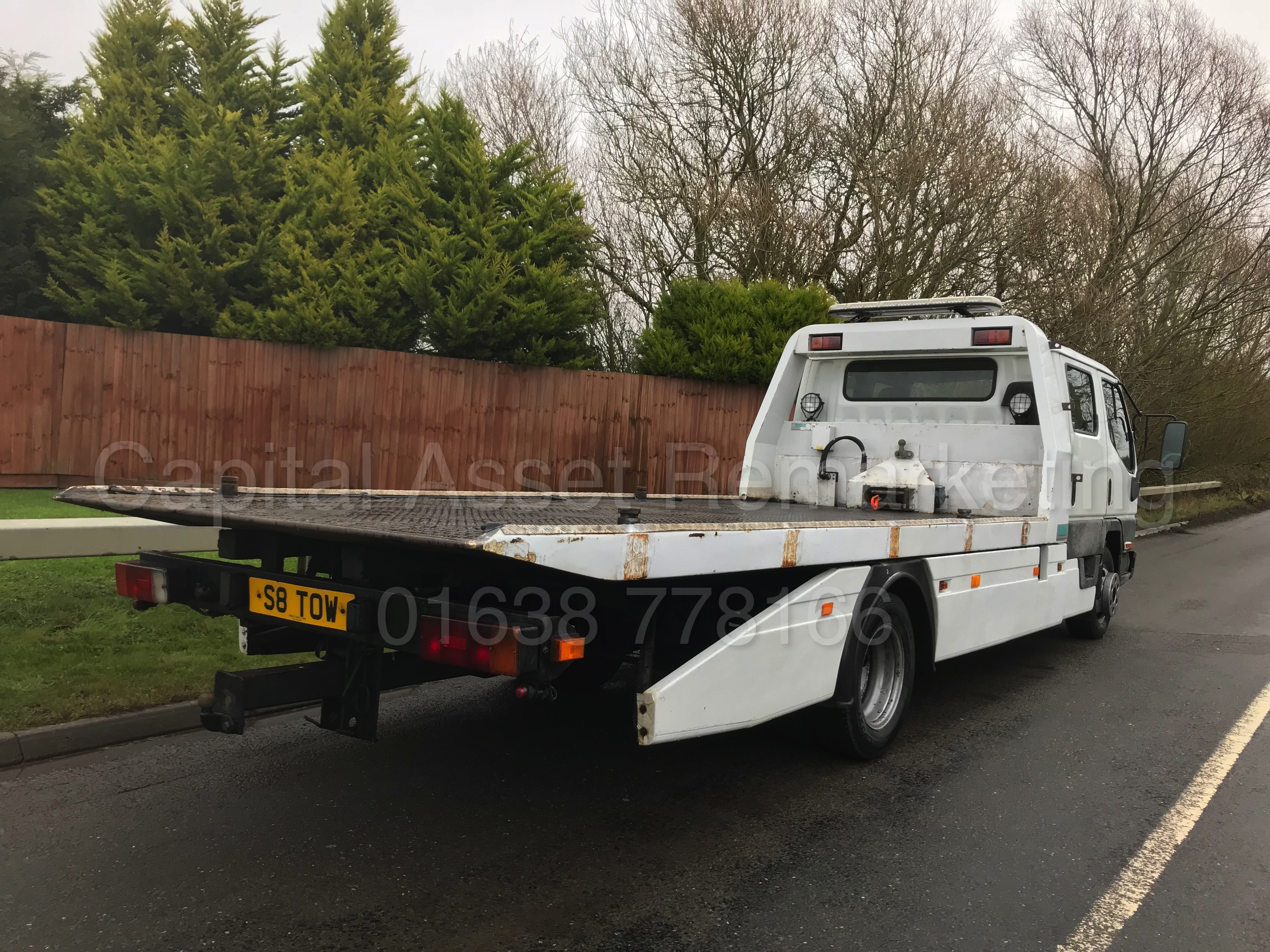 on sale   double cab u0026quot  car transporter    recovery