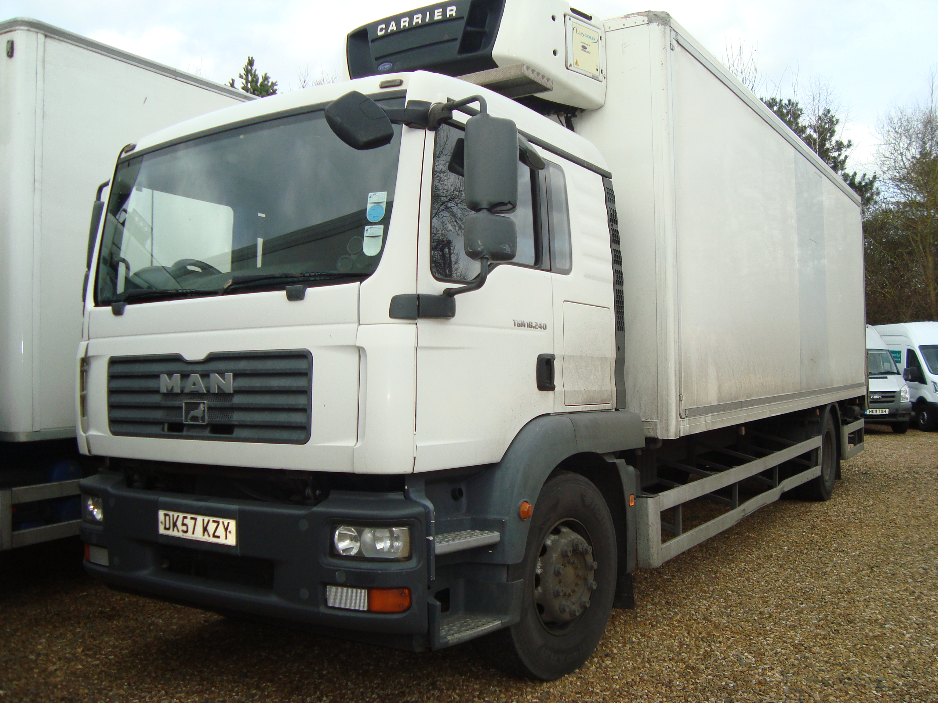 Man Tgm18 240 Sleeper Cab Twin Axle Rigid Refrigerated