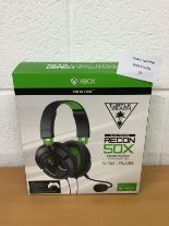 Lot 52 - Turtle Beach Recon 50X Stereo Gaming Headset - Xbox One RRP £59.99.
