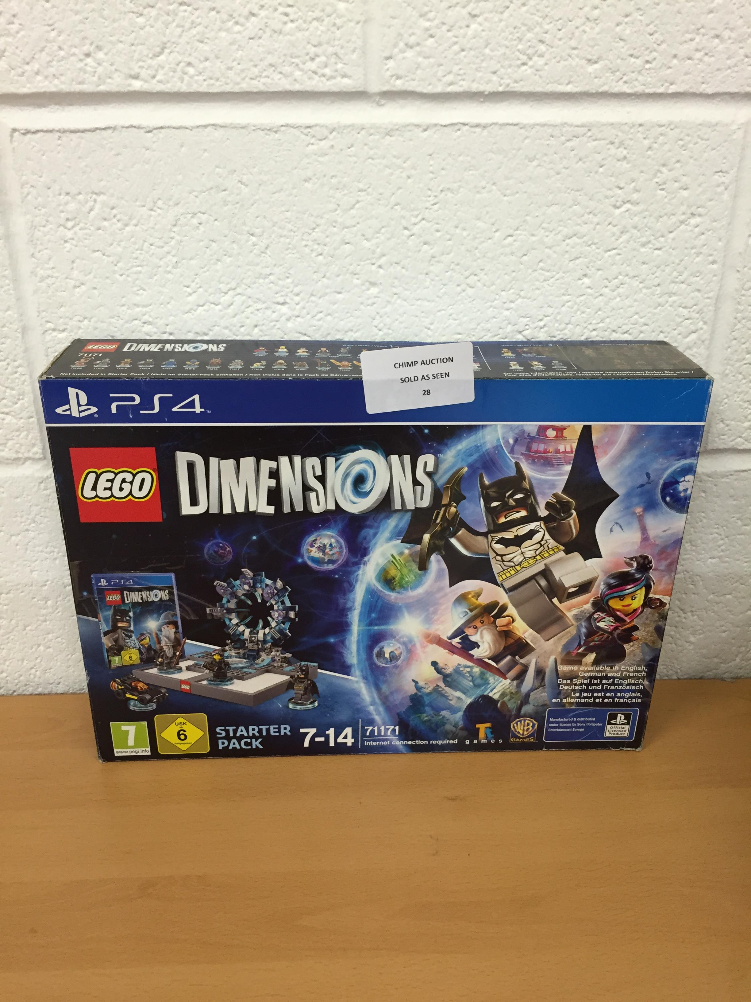 Lot 28 - Lego Dimensions Sony PS4 starter pack RRP £99.99.