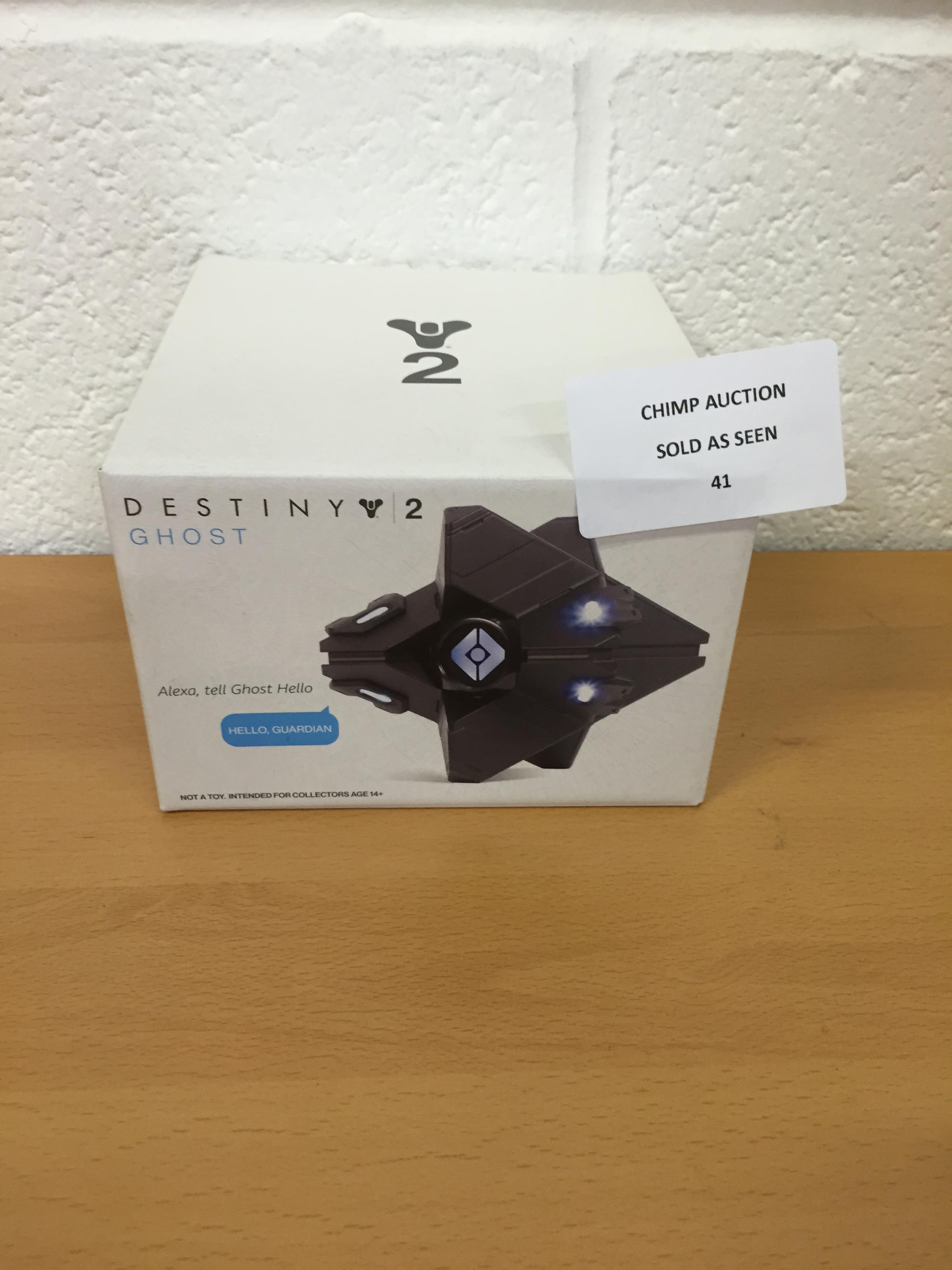 Lot 41 - Destiny 2 Ghost edition Alexa compatible RRP £79.99.
