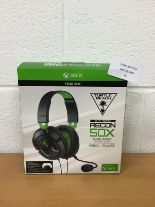 Lot 55 - Turtle Beach Recon 50X Stereo Gaming Headset - Xbox One RRP £59.99.