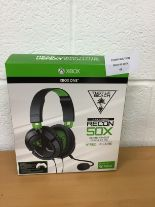 Lot 60 - Turtle Beach Recon 50X Stereo Gaming Headset - Xbox One RRP £59.99.