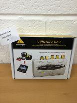 Lot 50 - Behringer UFO202 U-phono USB Audio Interface