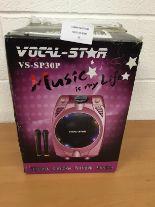 Lot 22 - Vocal - Star VS-SP30P Portable karaoke system