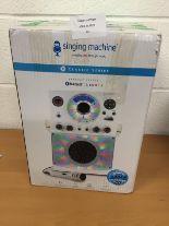 Lot 24 - Singing Machine Classic series Bluetooth karaoke system