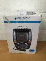 Lot 26 - Singing Machine SML605 Bluetooth karaoke system RRP £109.99.