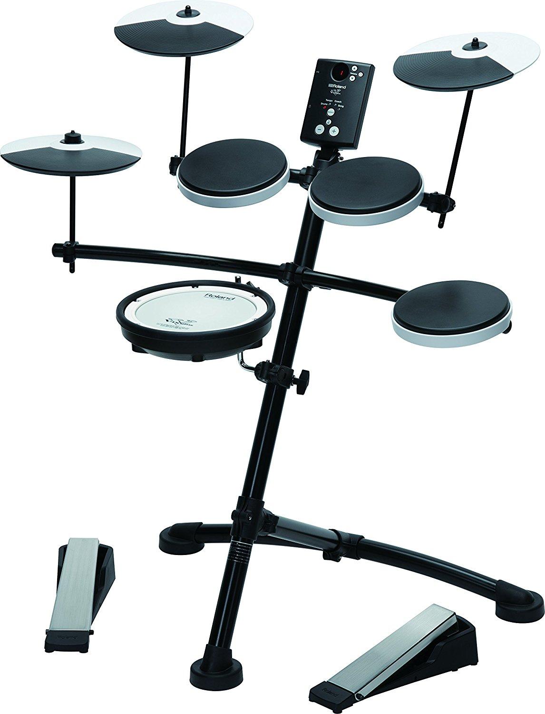 Lot 19 - Roland TD-1KV V-Drum Compact Electro Drum Kit, Mesh Snare RRP £599.99