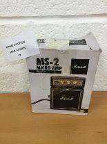 Lot 57 - Marshall MS-2 Micro Amp