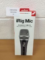 Lot 61 - IK Multimedia iRig Mic Handheld Microphone RRP £69.99