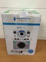 Lot 23 - Singing Machine Classic series Bluetooth karaoke system