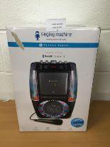 Lot 25 - Singing Machine SML605 Bluetooth karaoke system RRP £109.99.