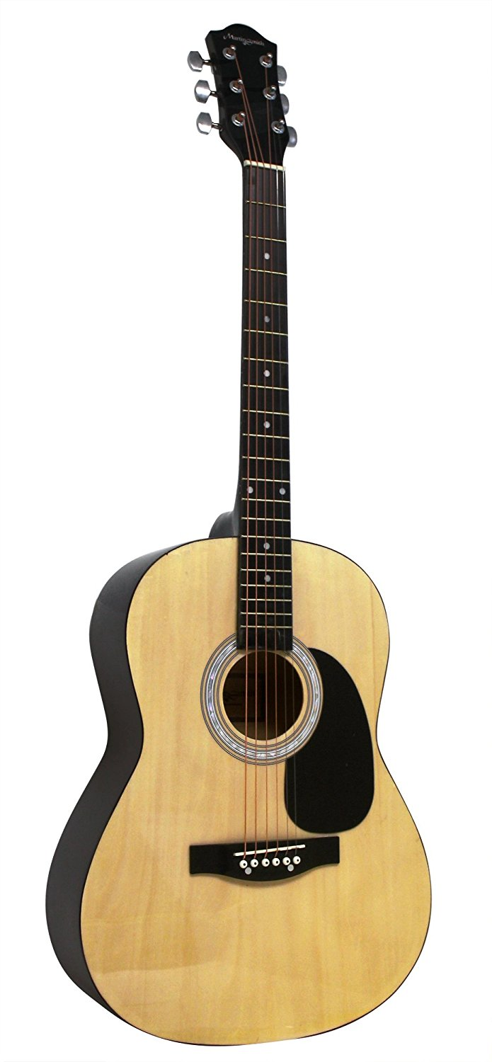 Lot 12 - Martin Smith W-100 Acoustic Guitar / DAMAGED