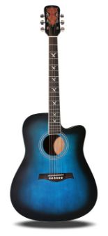 Lot 11 - Martin Smith W-700-BL Acoustic Steel-String Guitar