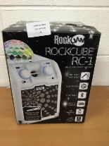 Lot 28 - Rockjam ROCKCUBE RC-1 BLUETOOTH karaoke system RRP £119.99.