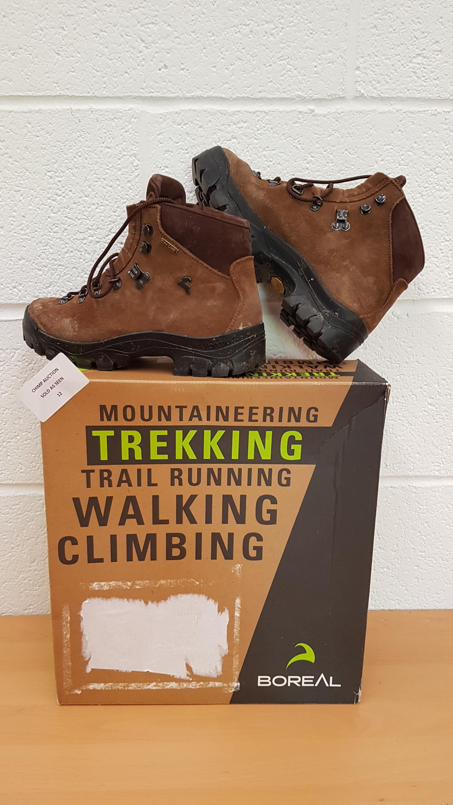 Lot 12 - Boreal Atlas walking, climbing SHOES UK SIZE 5.5