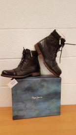 Lot 13 - Pepe Jeans Men's Melting Zipper New Classic Boots EU SIZE 43 RRP £179.99