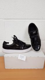 Lot 24 - Puma Women's Vikky Platform Ribbon P Low-Top shoes UK 7.5