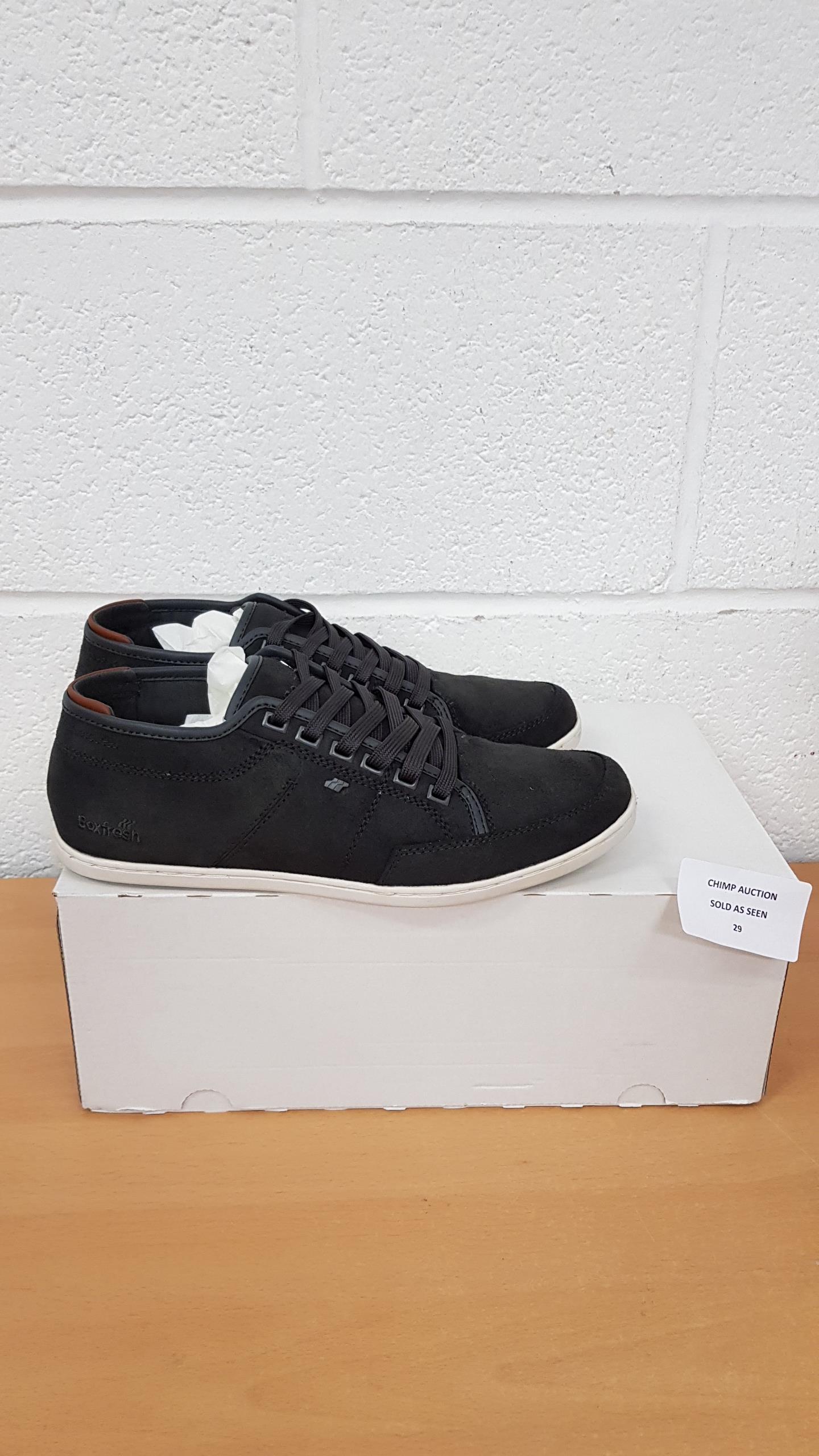Lot 29 - Boxfresh men's shoes UK 7