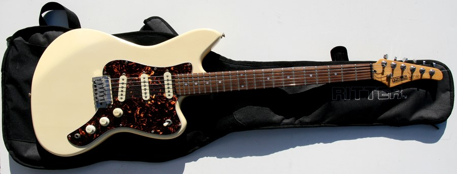 Lot 44 - A Hohner Professional JT60 electric guitar.