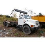 """CAMION """"ROLL-OFF"""" INTERNATIONAL 4900, 60 000 LBS CAP, 507 508 KM, S/N: 1HTSHADT0TH270804 (1996)"""