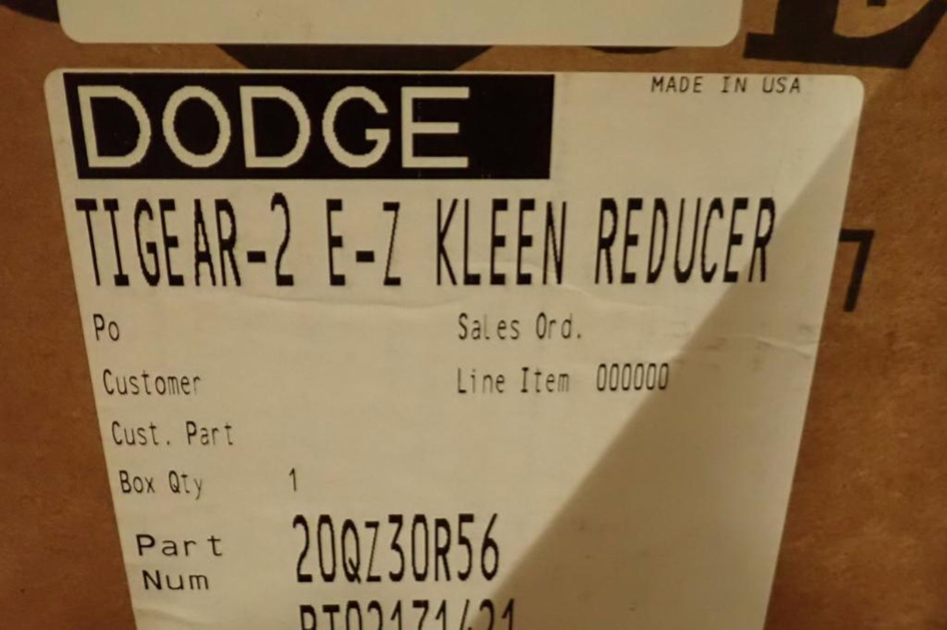Unused Dodge gear reducers ** Rigging Fee: $25 ** - Image 13 of 14