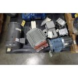 (6) assorted electric motors and gearboxes. (See photos for additional specs). **Rigging Fee: $30**