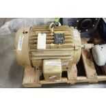 Baldor 20 hp electric motor. (See photos for additional specs). **Rigging Fee: $25** (Located in Eag