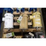 (3) Baldor electric motors, 5 hp, 5hp, 3 hp. (See photos for additional specs). **Rigging Fee: $25**
