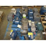 (11) assorted electric motors and gearboxes. (See photos for additional specs). **Rigging Fee: $25**