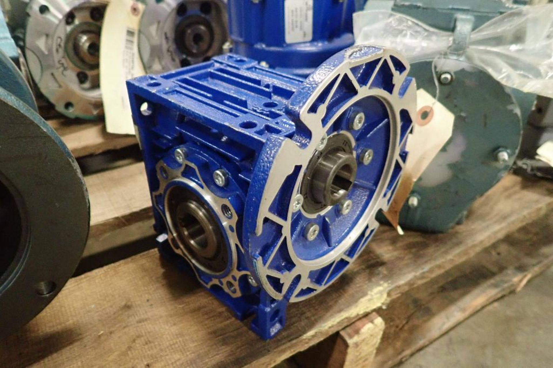 Pallet of assorted gearboxes. (See photos for additional specs). **Rigging Fee: $25** (Located in Ea - Image 11 of 65