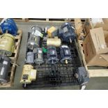 (10) assorted electric motors and gearboxes. (See photos for additional specs). **Rigging Fee: $25**