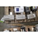 (3) Baldor .75 hp electric washdown motors. (See photos for additional specs). **Rigging Fee: $25**