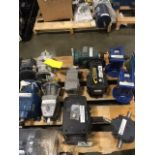 (11) Assorted gearboxes. (See photos for additional specs). **Rigging Fee: $25** (Located in Eagan,
