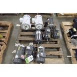 Pallet of Baldor electric motors. (See photos for additional specs). **Rigging Fee: $25** (Located i